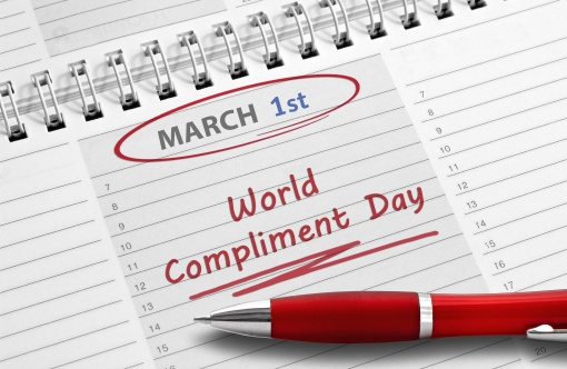 Note: World Compliment Day
